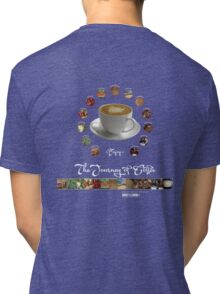The Journey of Coffee [Light] Tri-blend T-Shirt