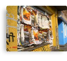 Cool advertising Canvas Print