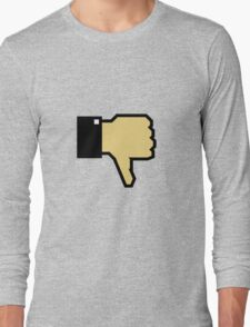 I don't like this! (Thumb Down) Long Sleeve T-Shirt