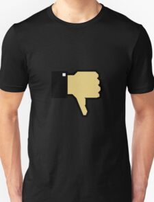 I don't like this! (Thumb Down) Unisex T-Shirt