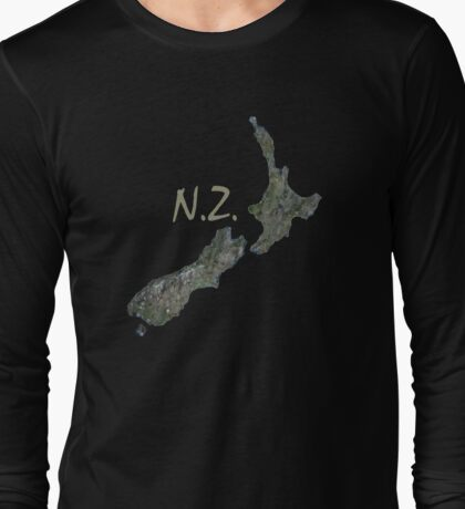 N.Z. Long Sleeve T-Shirt