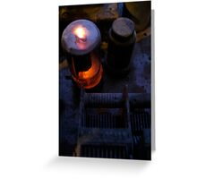Glowing Tube Greeting Card