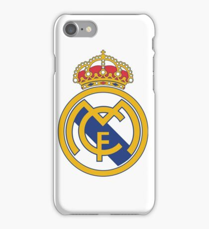 Real madrid SOCCER iPhone Case/Skin