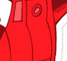 little red whirlwind Sticker