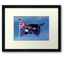 HAPPY AUSTRALIA DAY! Framed Print