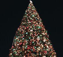 Christmas tree at Disneyland  by Disneyland1901