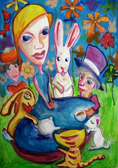 Alice and Friends by kimbaross