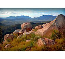 Mt.Elliot from Mt.Stuart. Photographic Print