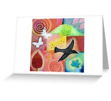 """ ONCE UPON A LOVELY SUMMER "" Greeting Card"