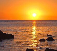 Sunset Trou Aux Biches Mauritius by John Brotheridge