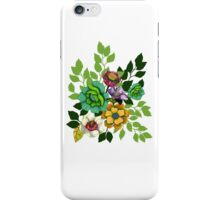 Flower Hand drawn Print iPhone Case/Skin