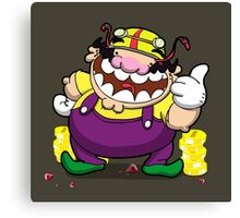 Greedy loveable fatso! Canvas Print