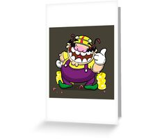 Greedy loveable fatso! Greeting Card