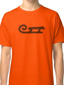 brown sledge Classic T-Shirt