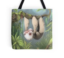 Sloth with Baby Tote Bag