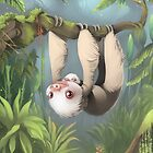 Sloth with Baby by sammylewis