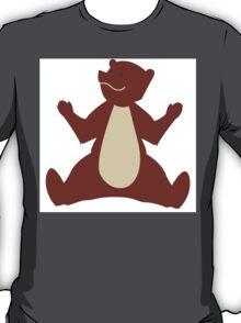 Cute brown cartoon bear T-Shirt