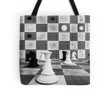 3D Chess Board Tote Bag