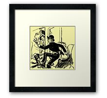 One Tooth Of The Law Framed Print