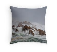 Storm, West Coast, Tasmania Throw Pillow