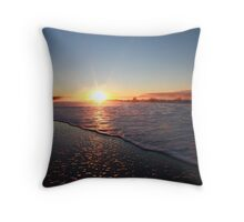 Seven Mile Beach Sunrise, Tasmania Throw Pillow