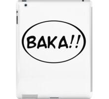 Baka!! iPad Case/Skin
