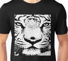 10 Big White Snow Tiger By Chris McCabe - DRAGAN GRAFIX Unisex T-Shirt