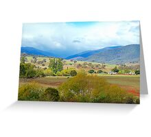 Overlook - Southern NSW, Australia Greeting Card