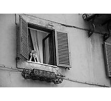 Italian Woman Photographic Print