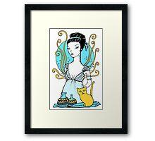 Aphrodite Tee Framed Print