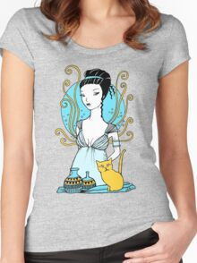 Aphrodite Tee Women's Fitted Scoop T-Shirt