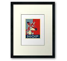 HOP - Yes We Kan-garoo Framed Print