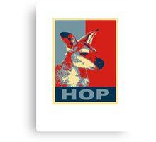 HOP - Yes We Kan-garoo Canvas Print