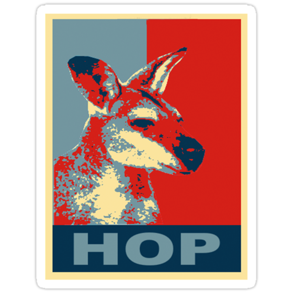 HOP - Yes We Kan-garoo by Rob Price