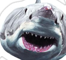 Great White Terrorist Sticker