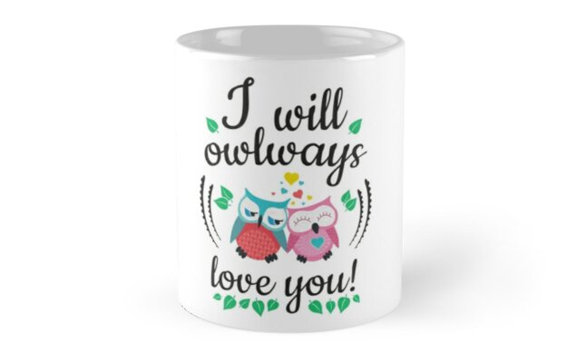 I will owlways love you owls by Fuchs-und-Spatz