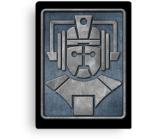 Cyberman Logo Canvas Print