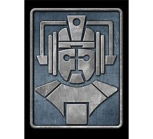 Cyberman Logo Photographic Print