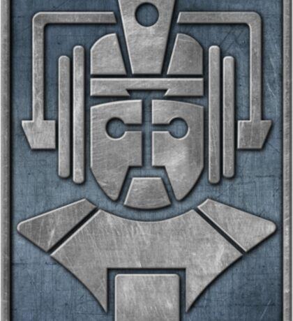 Cyberman Logo Sticker