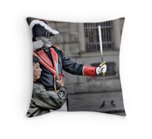 3 doves and the one-legged pedestrian (aka 'The assassination') Throw Pillow