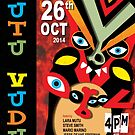 Vudu Mutu - Blues Band Poster by Marie Gudic