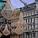 Christmas illumination Wien (Vienna) - Austria by Arie Koene