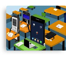 Smart Phone Canvas Print