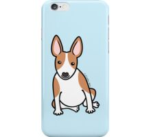 English Bull Terrier Puppy Dog ... brown & white iPhone Case/Skin