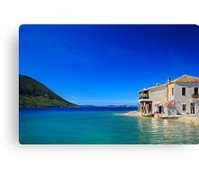 The magic of the Ionian sea - Mytikas Canvas Print