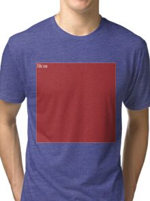 Red Wall Texture 1x1 Tri-blend T-Shirt