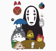Ghibli mix Kids Tee