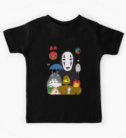 Ghibli mix Kids Tee