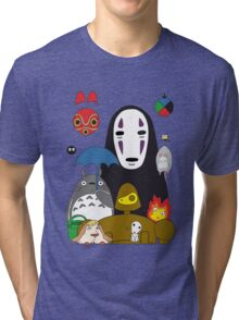 Ghibli mix Tri-blend T-Shirt