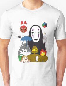 Ghibli mix Unisex T-Shirt